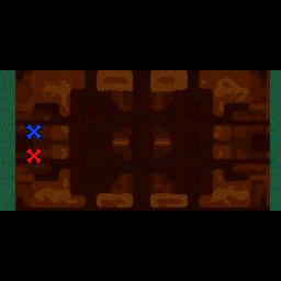 Desert Smite 2 Reforged v2.1 - Warcraft 3: Mini map