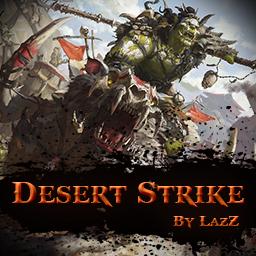 Desert_Strike_V2.0.1 - Warcraft 3: Mini map