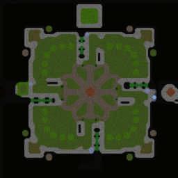 Reforged Footmen 5.7.4 - Warcraft 3: Mini map