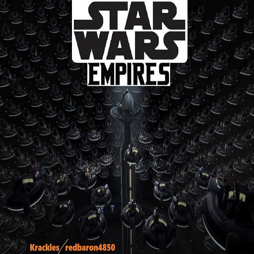 Star Wars - Empires Warcraft 3: Map image