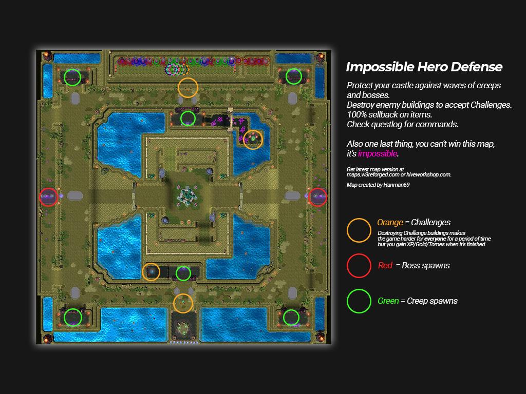 Impossible Hero Defense 31.5 - Warcraft 3: Custom Map avatar