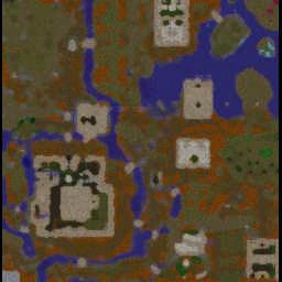 Medieval Zombie Apocalypse 2.38 - Warcraft 3: Mini map