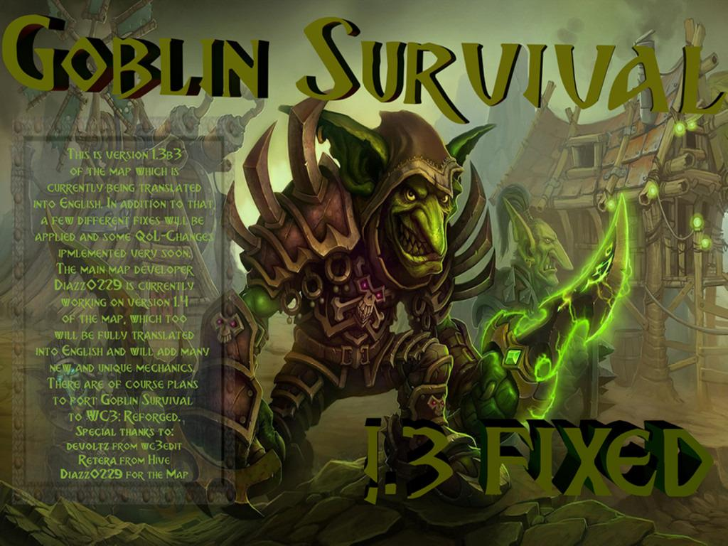 Goblin Survival 1.3FIXED [PATCH3a] - Warcraft 3: Custom Map avatar