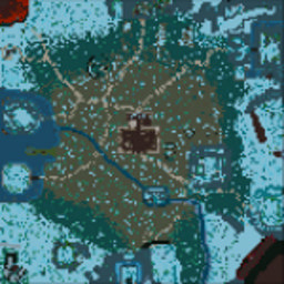 CoT Nevermore v1.33.17b - Warcraft 3: Mini map