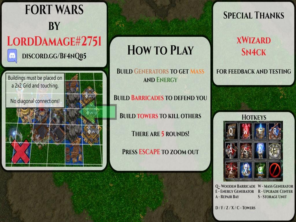Fort Wars 2.01a - Warcraft 3: Custom Map avatar