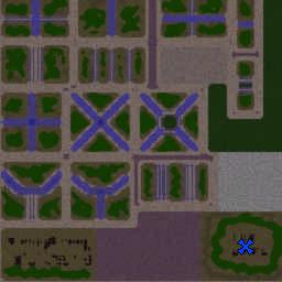 Fort Wars 2.01a - Warcraft 3: Mini map