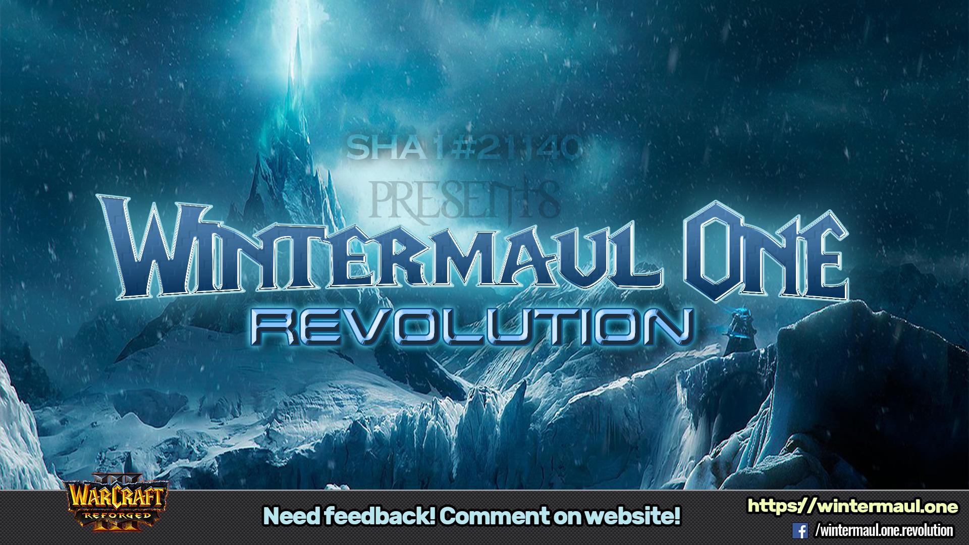 Wintermaul One Revolution 1.5 - Warcraft 3: Custom Map avatar