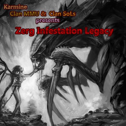 Zerg Infestation Legacy Warcraft 3: Map image