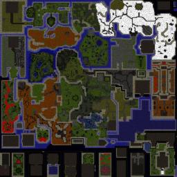 Millenium RPG v9.22 English - Warcraft 3: Mini map