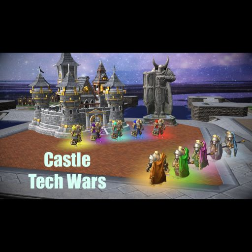 Castle Tech Wars Warcraft 3: Map image