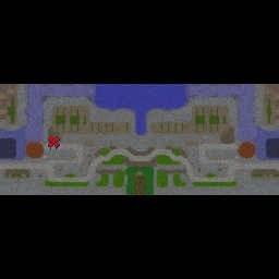 Castle Tech Wars v0.9.4 - Warcraft 3: Mini map