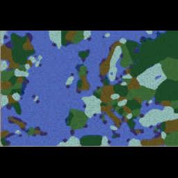 Risk - New World! v4.0 - Warcraft 3: Mini map