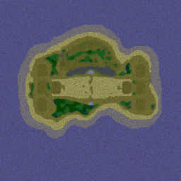 Direct Strike Reforged V1.3.3b Warcraft 3: Featured map mini map