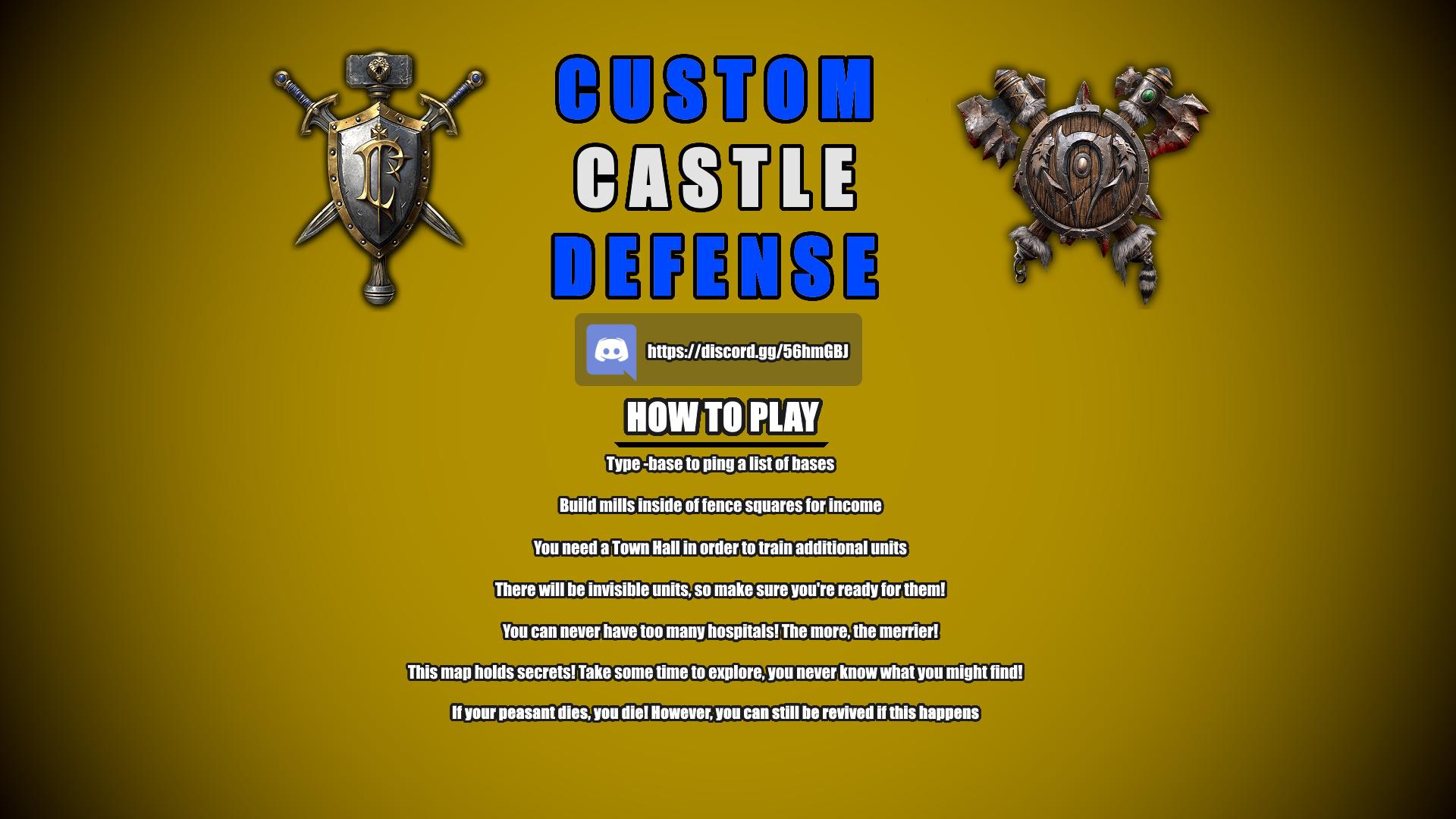 Custom Castle Defense v8.21.1 - Warcraft 3: Custom Map avatar