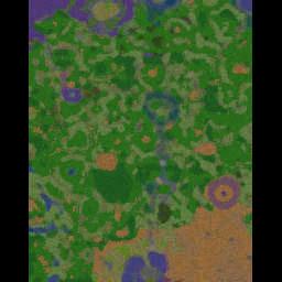 Custom Castle Defense v8.21.1 - Warcraft 3: Mini map