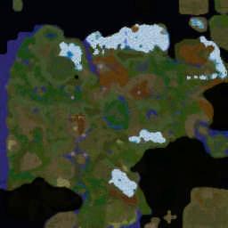 WOTA: The Sundering 2.05 - Warcraft 3: Mini map