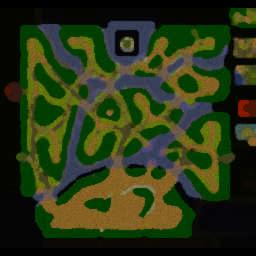 The ZombieDay 4.0.4 - Warcraft 3: Mini map