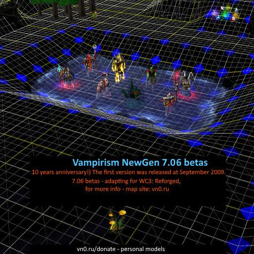 Vampirism NewGen Warcraft 3: Map image