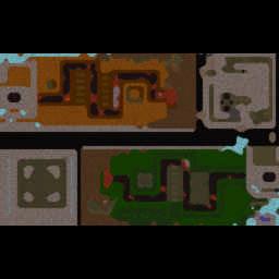 Mun TD Wars 2.7.3 Hero Edition - Warcraft 3: Mini map