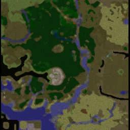 반지의 제왕 RPG모드 Ver6.0 - Warcraft 3: Mini map