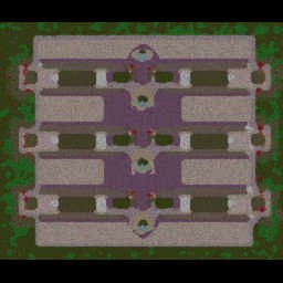City TD Solo v2.81a - Warcraft 3: Mini map