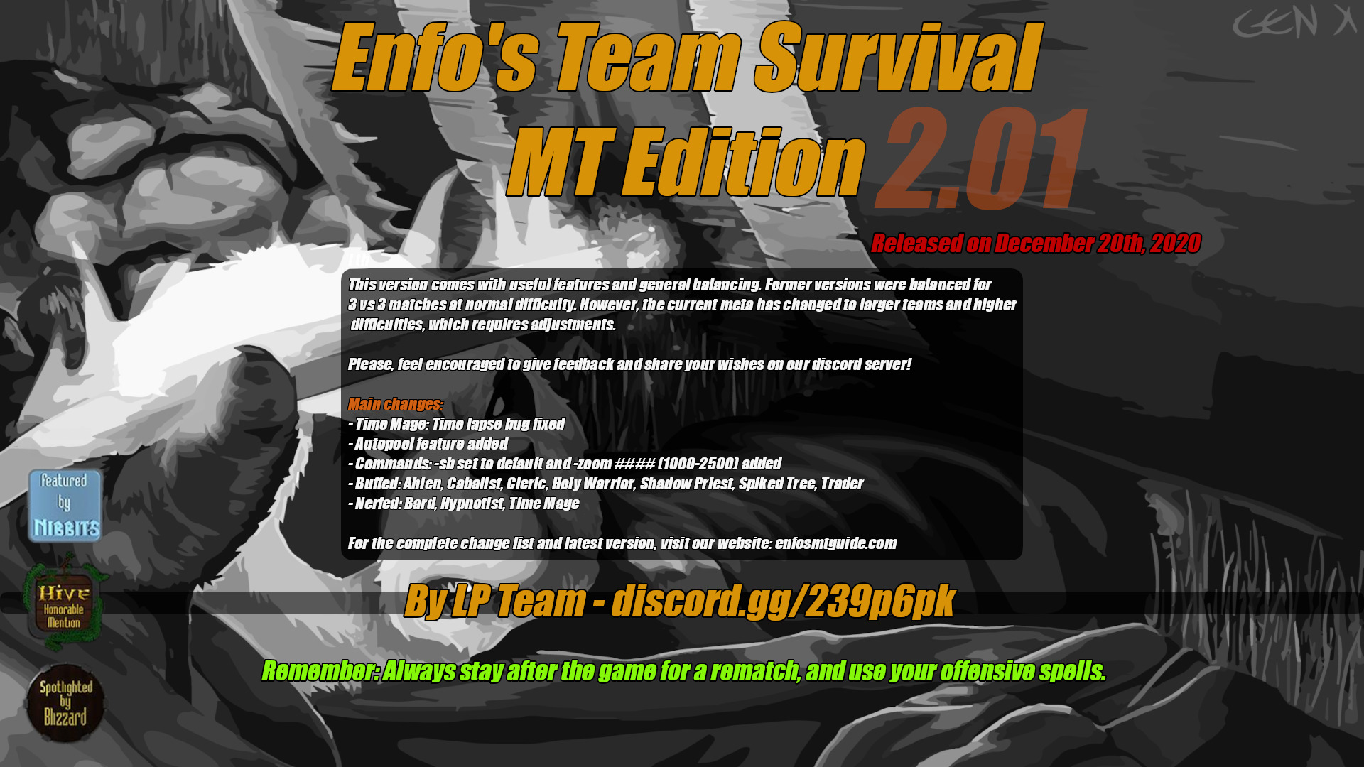 Enfo's TS:MT Edition 2.01 - Warcraft 3: Custom Map avatar
