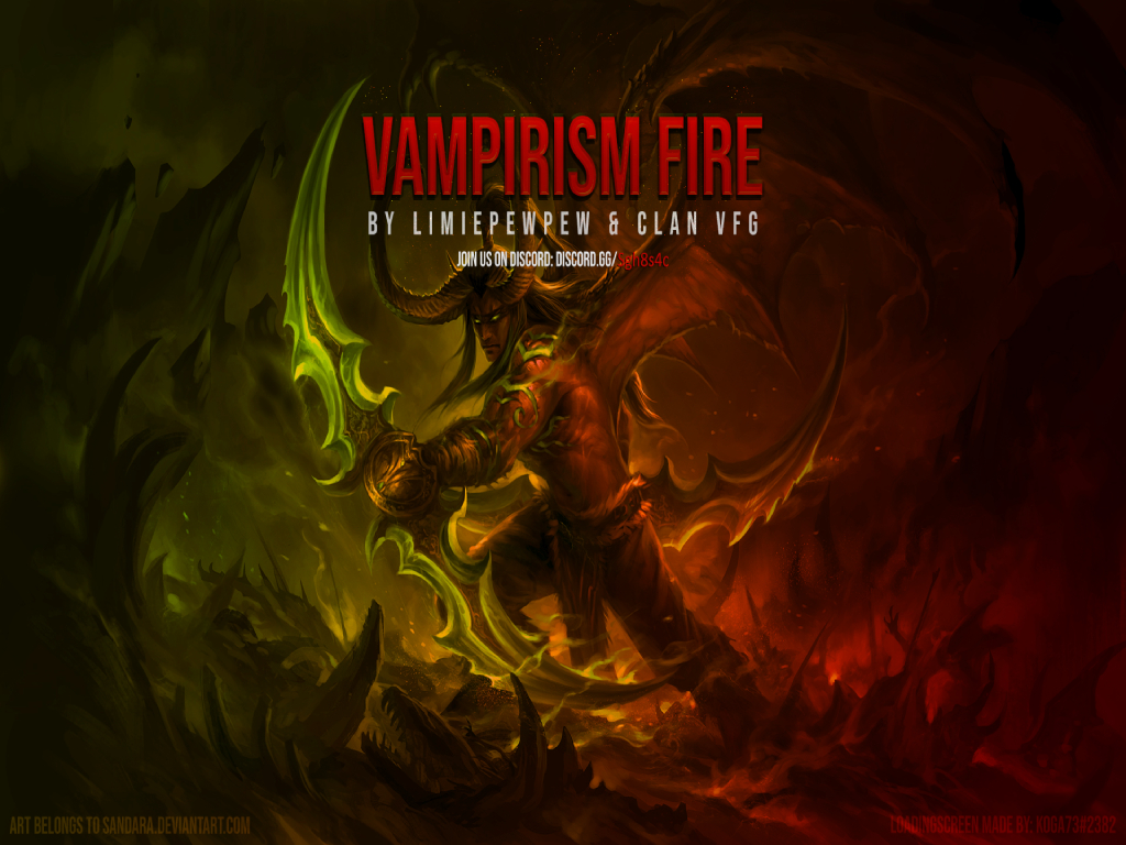 Vampirism Fire 7.2.8 - Warcraft 3: Custom Map avatar