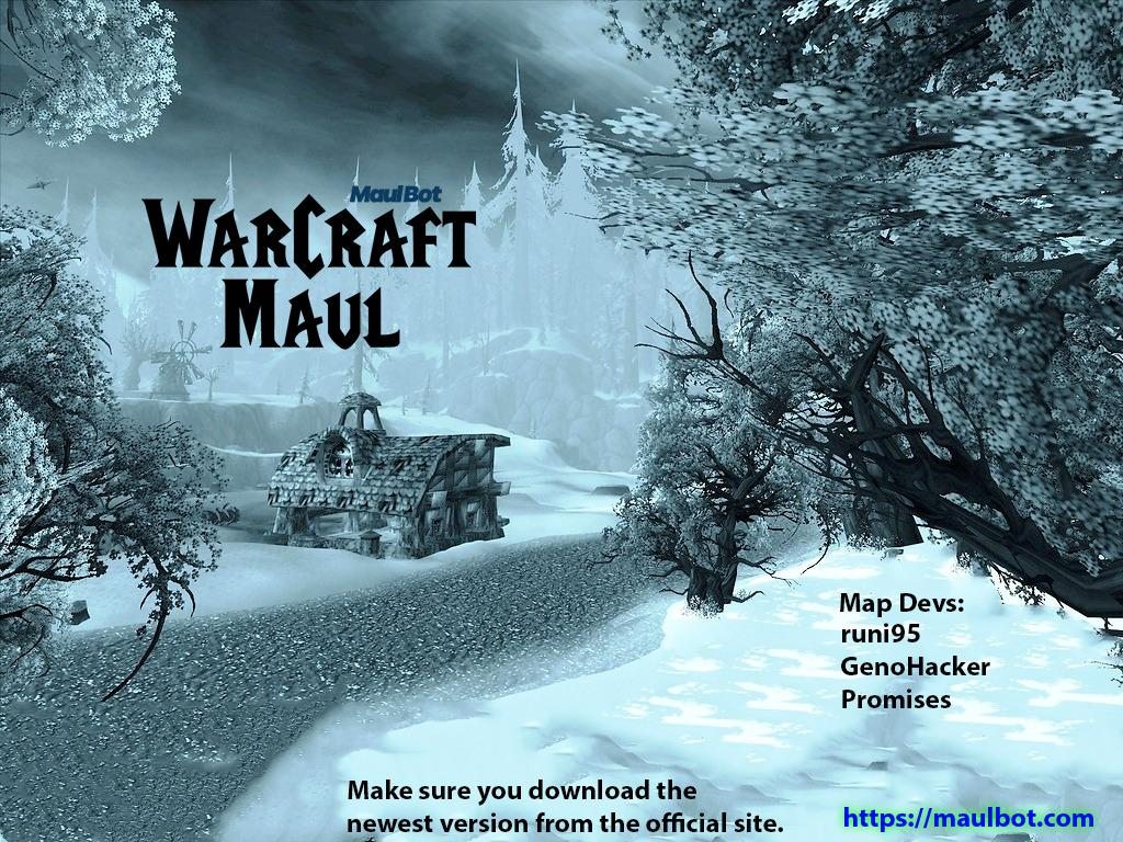 Warcraft Maul: Reimagined v4.4.3 - Warcraft 3: Custom Map avatar