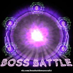 Boss Battle 1.4.2c - Warcraft 3: Mini map