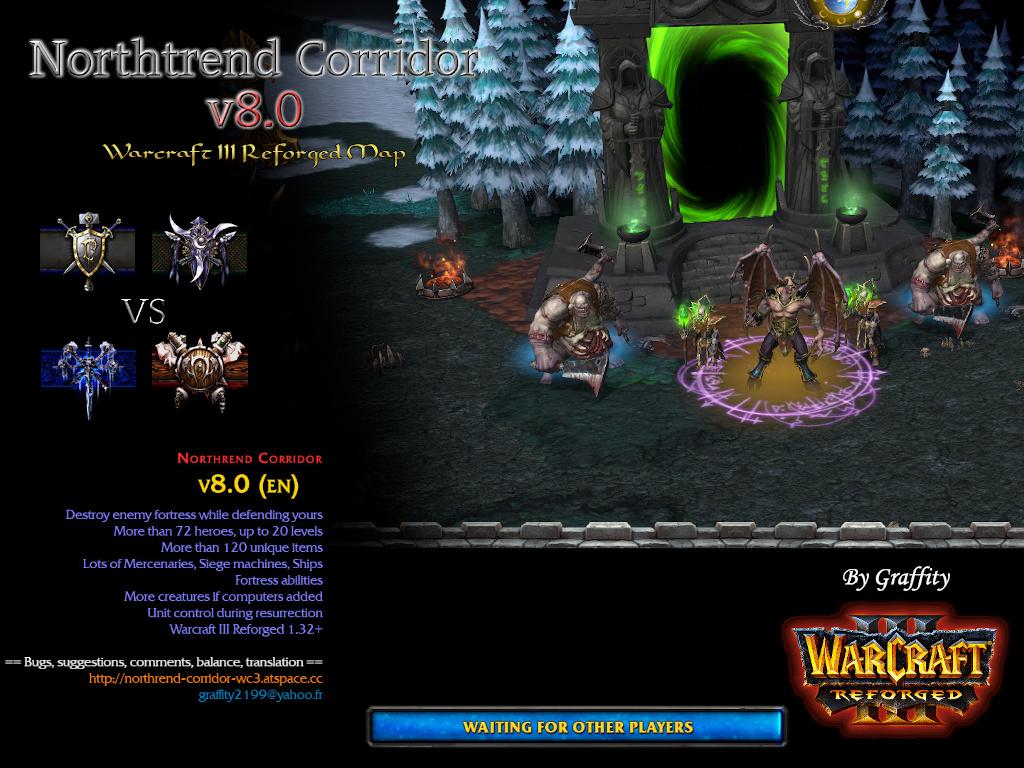 Northrend Corridor v8.0 (en) - Warcraft 3: Custom Map avatar