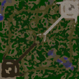 Battle Tanks 9.10 - Warcraft 3: Mini map