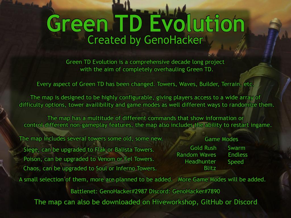 Green TD Evo v2.05 - Warcraft 3: Custom Map avatar