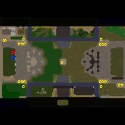 Footmen vs Grunts 5.8.1 - Warcraft 3: Mini map