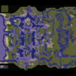 Battleships Crossfire 4.83 - Warcraft 3: Mini map