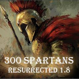 300 Spartans R (1.9HF89) - Warcraft 3: Mini map