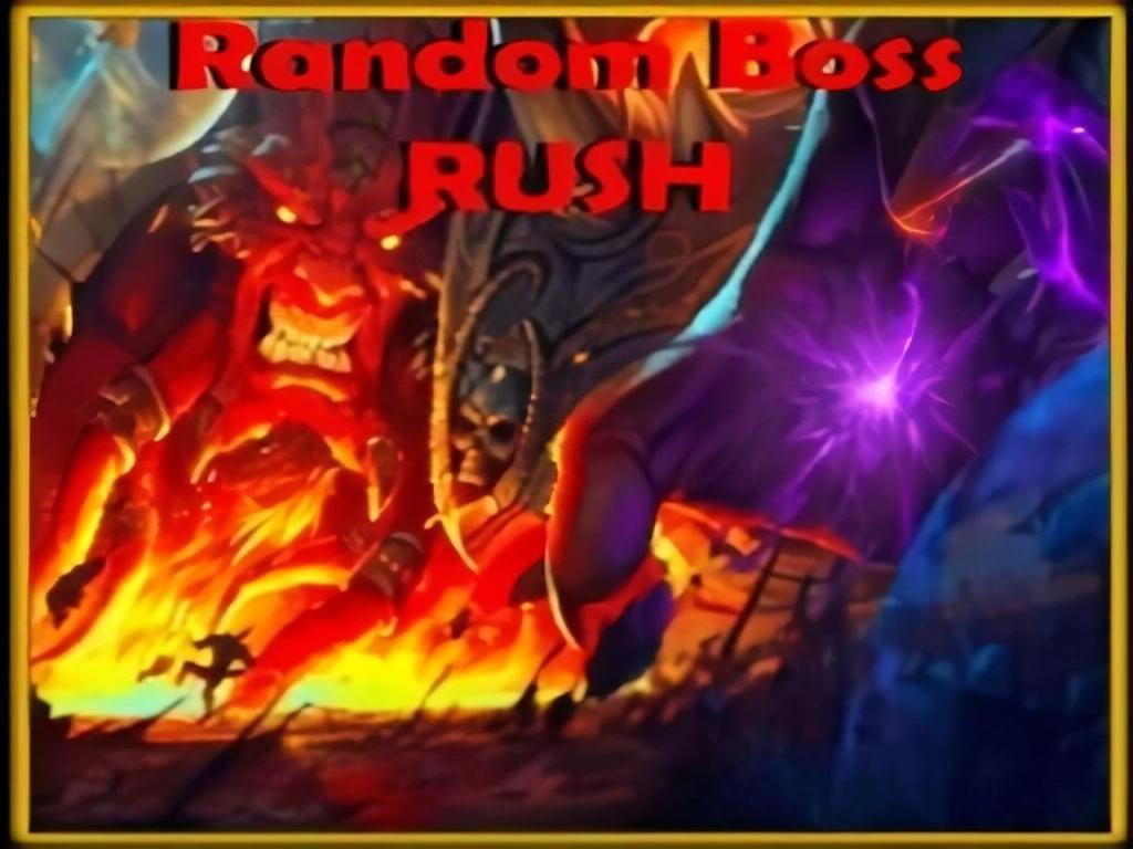 RandomBossRush (0.51) - Warcraft 3: Custom Map avatar