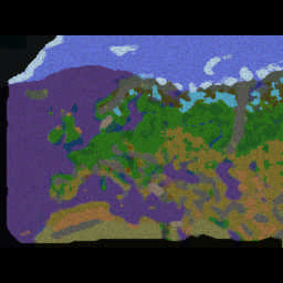 WW3 Diplomacy - Barbarossa v1.1c2 - Warcraft 3: Mini map