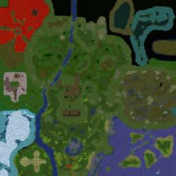 HFL RPG 0.5.9 - Warcraft 3: Mini map