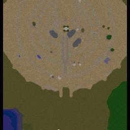 The Siege of Minas Tirith 0.7 - Warcraft 3: Mini map